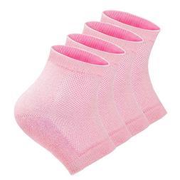 Gel Heel Sleeves Moisturizing Socks, Nouritty Breathable Cot