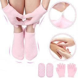 Gel Moisturizing Gloves and Socks for Lotion Overnight, Mois