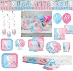 Gender Reveal Party Pack CUSTOMIZE YOUR LOT!!! PICK YOUR PAR