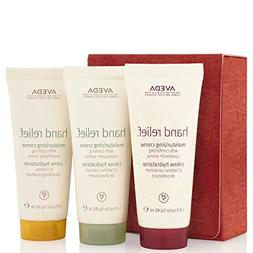 Aveda gift set of travel size moisturizing hand cremes in 3