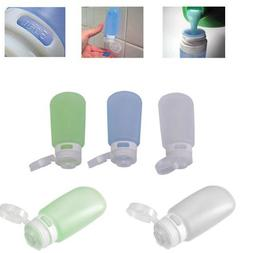 3 Pack Gotoob Humangear 2 oz Travel Tube New TSA Bottle Hold