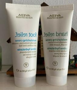 Aveda Hand & Foot Relief Cream Travel Size 1.4 oz Moisturize