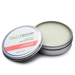 Natural Hand and Foot Balm for Athletes with Grapefruit and