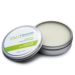 Natural Hand and Foot Balm for Athletes With Tea Tree and Le