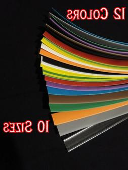 Heat shrink tubing 12 colors to choose from 3/64'' to 1.5''