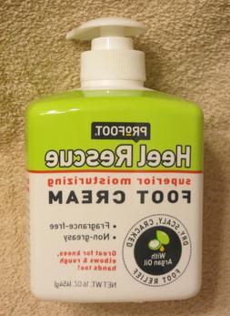 ProFoot Heel Rescue Foot Cream, Superior Moisture Argan Oil