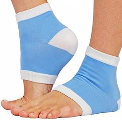 Heel Socks, Recomates Intensive Moisturizing Gel Heel Sleeve