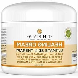 4.5 oz. THENA Intense Healing Cream Eczema Psoriasis Rosacea