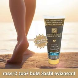 "Intensive Black Mud Foot Cream ""H&B"" Dead Sea SPA Dry And Se"