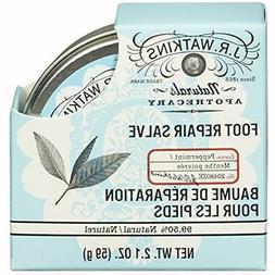 J.R. Watkins Foot Creams & Lotions Repair Salve, Peppermint,