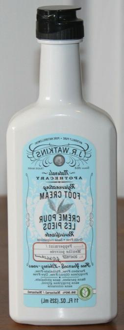 J. R. Watkins Rejuvenating Peppermint Foot Cream - 11 oz - O