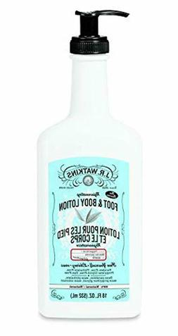 J.R. Watkins Rejuvenating Peppermint Foot and Body Lotion Pe