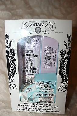 J.R. WATKINS Shea Butter Lavender Hand Cream & Foot Repair S
