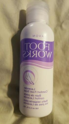 2 AVON LAVENDER OVERNIGHT TREATMENT & SOAK