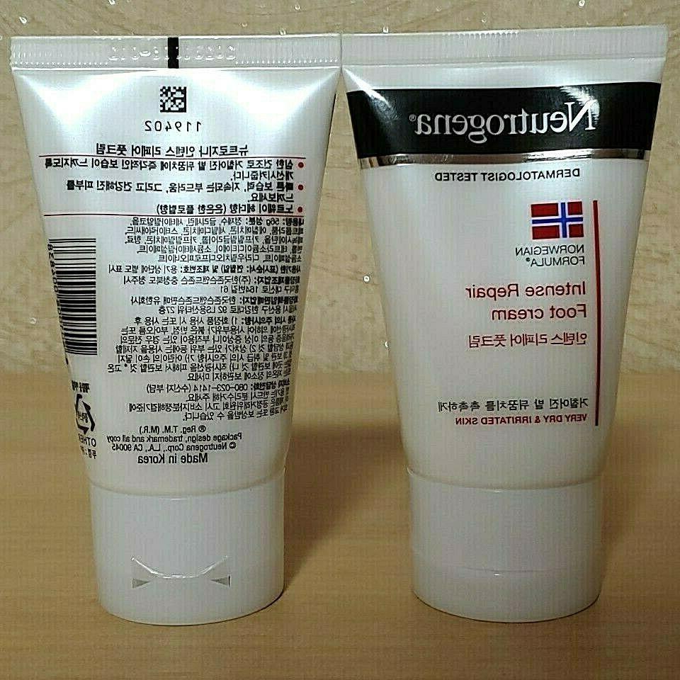 2pcs norweigian formula foot cream for dry