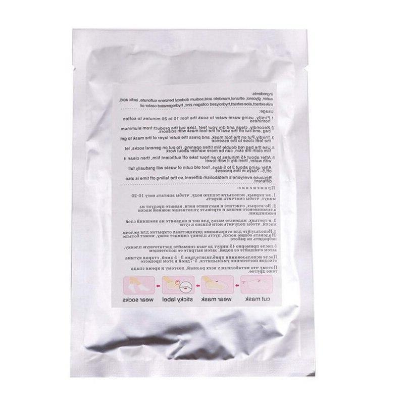 2Pcs/Pair Unisex Mask Professional Hard Dead Skin Remover Mask <font><b>Foot</b></font> <font><b>Creams</b></font> & Lotions