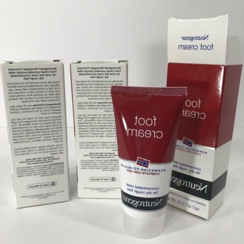 3 Formula Moisturizing Foot Oz New Box