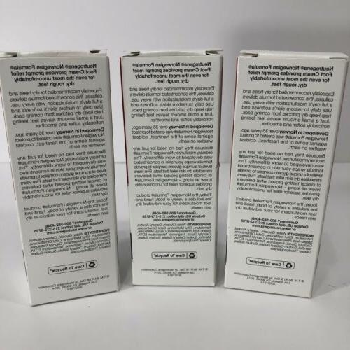 3 Neutrogena Norwegian Formula Moisturizing Oz Each New