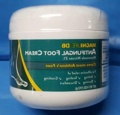 4 oz tub antifungal foot cream cures