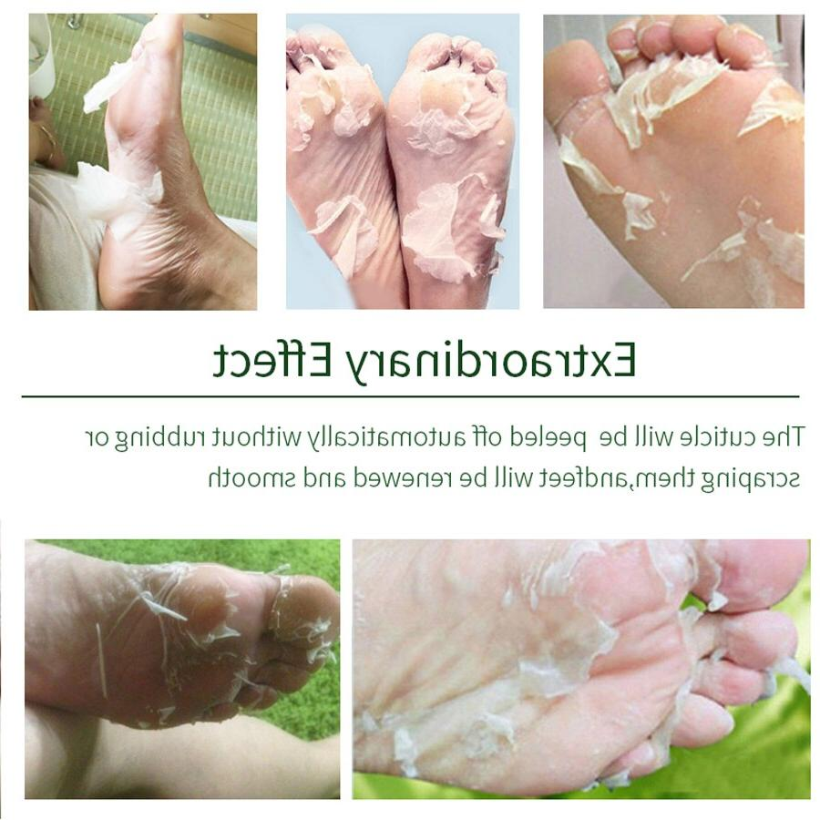 4Pcs=2Packs Exfoliating Mask <font><b>Soft</b></font> <font><b>Feet</b></font> Socks Remove Whitening <font><b>Foot</b></font> Cracked Spa