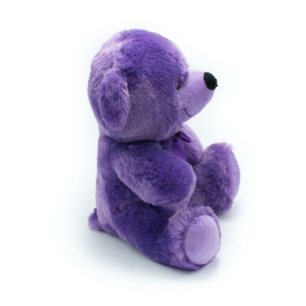 """9"""" Purple Plush Bear Stuffed Animal Gift"""