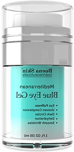 Blue Eye Gel For Dark Circles, Puffiness, Wrinkles and Bags