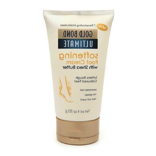 Gold Bond, Softening Foot Cream - 4oz, 3 Pack by Gold Bond