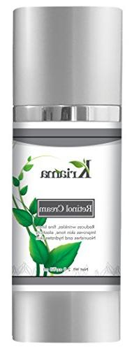 Kriama 2.5% Retinol Cream for Face & Eyes with Hyaluronic Ac