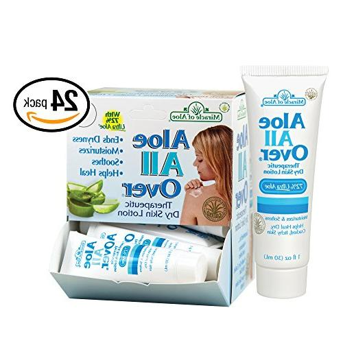 Miracle of Aloe, Aloe All Over Therapeutic Dry Skin Lotion w