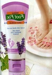 Mistine Foot Fix Salt Scrub & Therapy Cream - Scrub with Dea