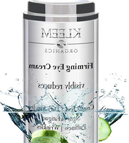 NEW Anti Aging Eye Cream for Dark Circles and Puffiness that