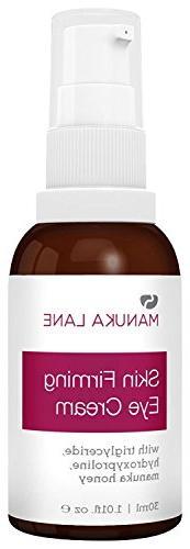 Natural Anti-Aging Eye Cream Moisturizer with Manuka Honey,