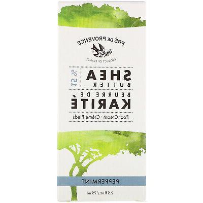 Pre de Provence 15% Natural Shea Butter Foot Cream for Treat