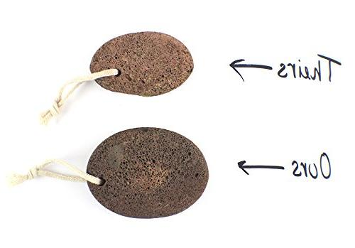 Pumice - and Foot Scrubber will Remove Dead Relieve Dry Heels, Lava Perfect as and Exfoliator