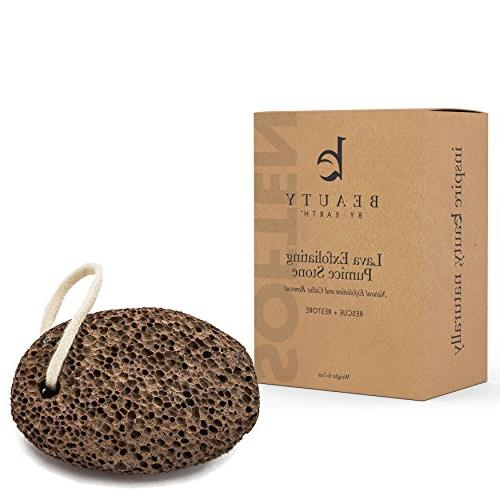 Pumice and will Remove Dead and Relieve Dry Heels, this Lava Stone is Perfect as a Exfoliator for