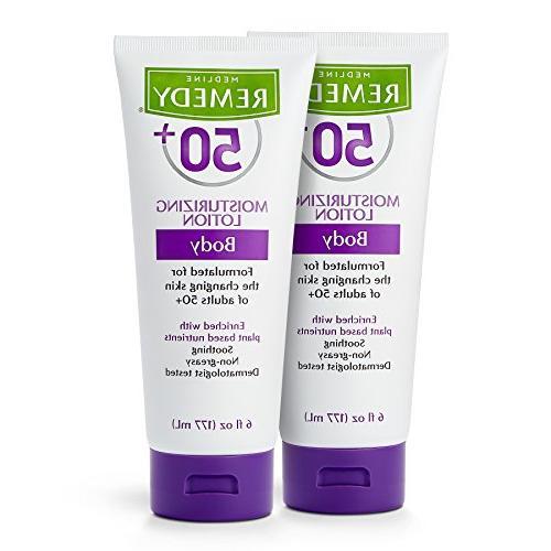 Remedy 50+ Daily Moisturizing Body Lotion, 6 Ounce