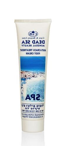 Anti Crack Dead Sea Foot Cream 100ml/3.4oz with Vitamins and