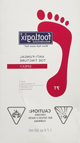 FOOTLOGIX Anti-Fungal Toe Tincture Spray, 1.7 Fl Oz