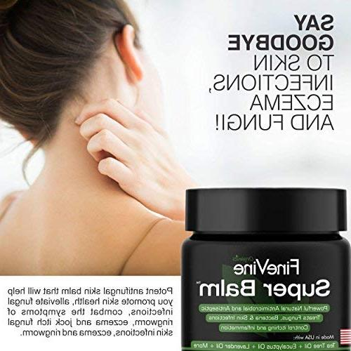 Antifungal Balm - in USA Treat Itch, Athletes Nail Fungal Best Itchy, Cracked Skin.