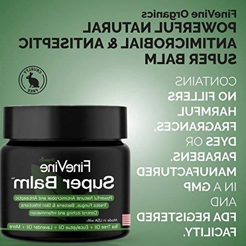 Antifungal Balm - Treat Ringworm, Jock Itch, Foot Nail Fungal Best to Itchy, Scaly Skin.