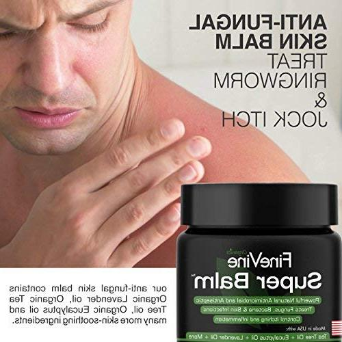 Antifungal - in USA Helps Treat Ringworm, Jock Itch, Foot and Nail - Best to Soothes Itchy, Scaly Skin.
