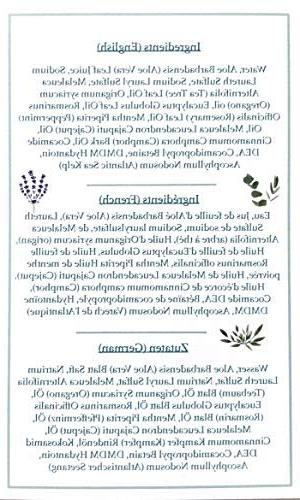Antifungal Tree Body Helps Foot, Ringworm, Jock Itch, & Itching & Feet, Skin and 9oz