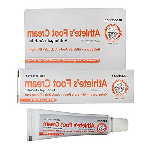 Athlete's Foot Cream , Dr. Sheffield's Athlete's Foot Cream