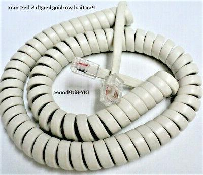 avaya handset cord partner 18d 34d 6