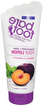 Bare Foot Freeman Foot Lotion and Scrub, Peppermint and Plum