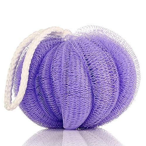 bath ball flower mesh brushes