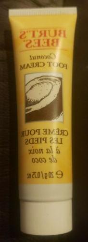 Burt Bees Burt's Foot Cream - Coconut With Vitamin E - .75 o