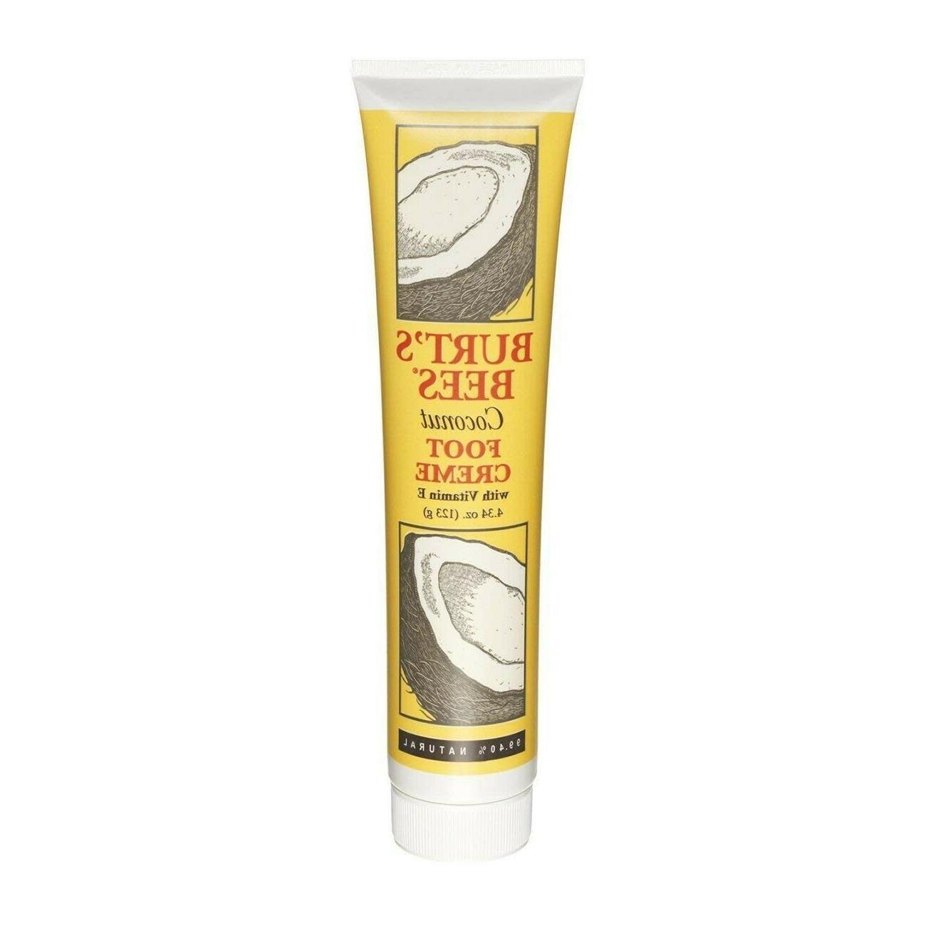 burt s bees coconut foot creme cream