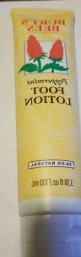 Burt's Bees Peppermint Lotion Natural Unisex 3.38