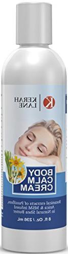 Body Calm Cream 8 Oz Arnica, MSM blended in Shea Butter for